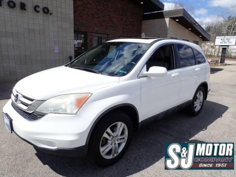 2010 Honda CR-V for sale at S & J Motor Co Inc. in Merrimack NH