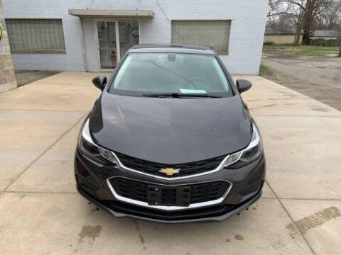 2017 Chevrolet Cruze for sale at Burtle Motors in Auburn IL