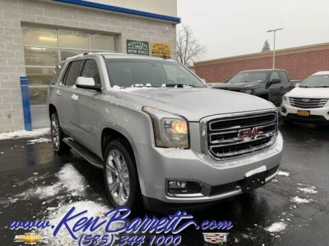 2015 GMC Yukon for sale at KEN BARRETT CHEVROLET CADILLAC in Batavia NY