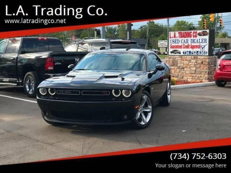 2017 Dodge Challenger for sale at L.A. Trading Co. in Woodhaven MI