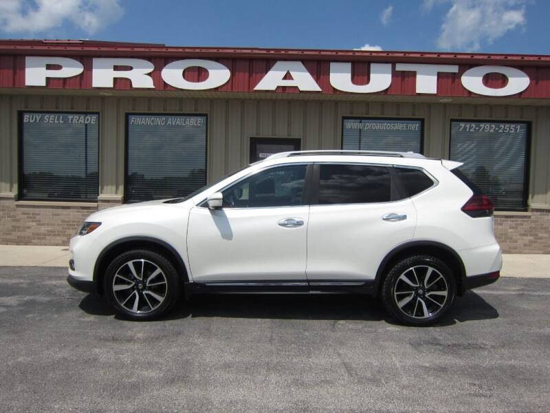 2018 Nissan Rogue for sale at Pro Auto Sales in Carroll IA