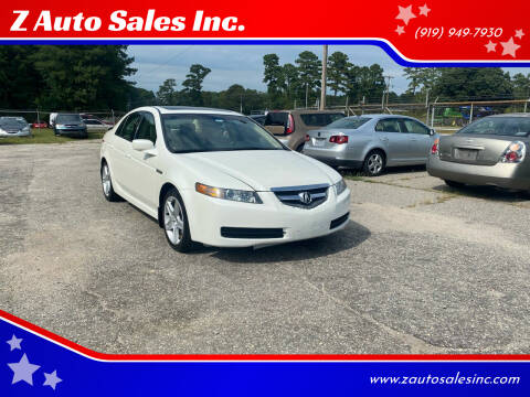 2005 Acura TL for sale at Z Auto Sales Inc. in Rocky Mount NC