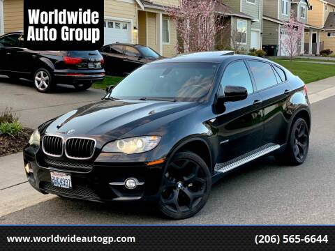 2012 BMW X6 for sale at Worldwide Auto Group in Auburn WA