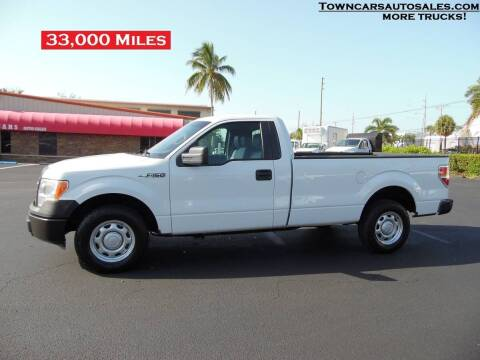 2013 Ford F-150 for sale at Town Cars Auto Sales in West Palm Beach FL