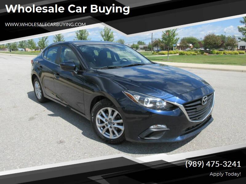 2016 Mazda MAZDA3 for sale at Wholesale Car Buying in Saginaw MI