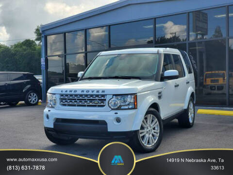 2012 Land Rover LR4 for sale at Automaxx in Tampa FL