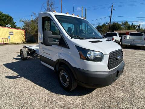 2016 Ford Transit Chassis Cab for sale at RODRIGUEZ MOTORS CO. in Houston TX