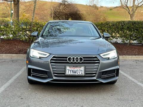 2017 Audi A4 for sale at CARFORNIA SOLUTIONS in Hayward CA