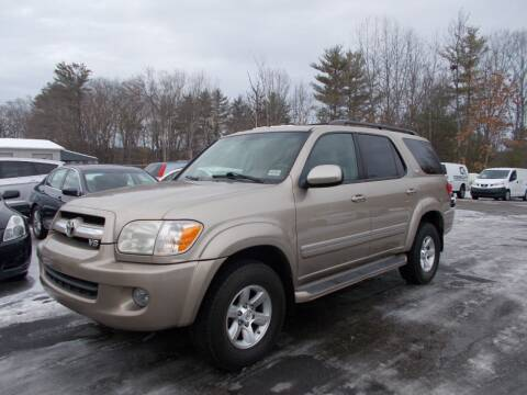 2005 Toyota Sequoia for sale at Manchester Motorsports in Goffstown NH