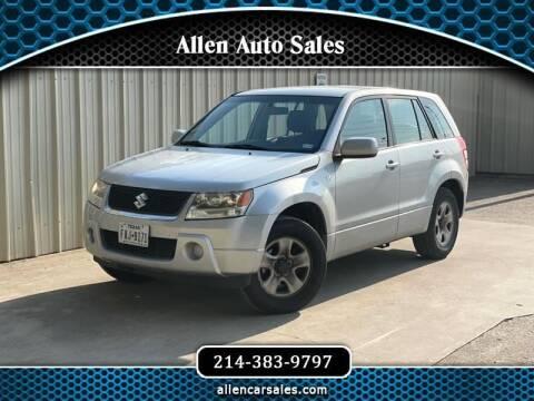 2007 Suzuki Grand Vitara for sale at Allen Auto Sales in Dallas TX