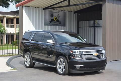2016 Chevrolet Tahoe for sale at G MOTORS in Houston TX