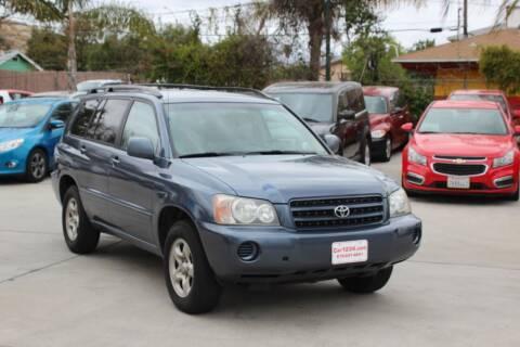 2002 Toyota Highlander for sale at Car 1234 inc in El Cajon CA