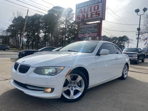 2011 BMW 3 Series for sale at Carafello's Auto Sales in Norfolk VA