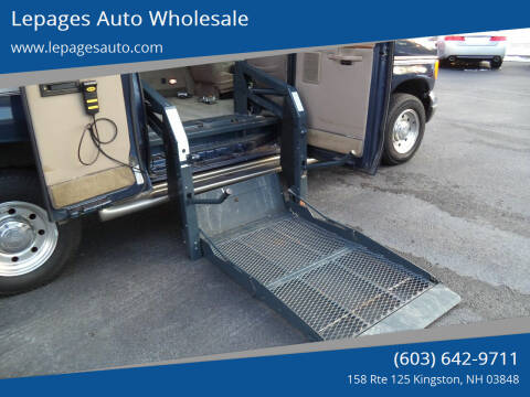 2006 Ford E-Series Chassis for sale at Lepages Auto Wholesale in Kingston NH