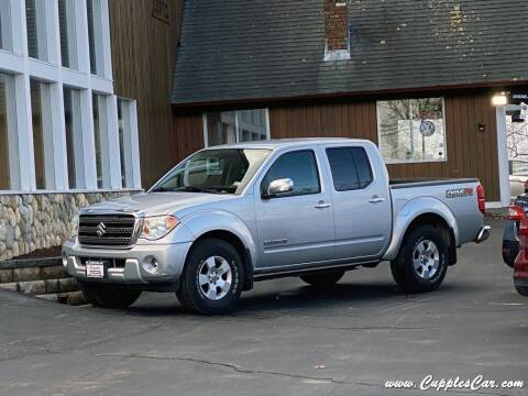 2011 Suzuki Equator for sale at Cupples Car Company in Belmont NH