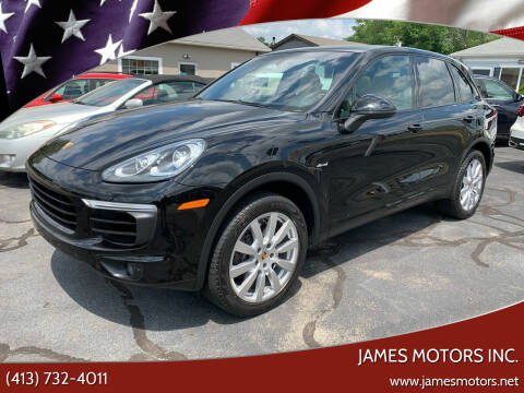 2016 Porsche Cayenne for sale at James Motors Inc. in East Longmeadow MA