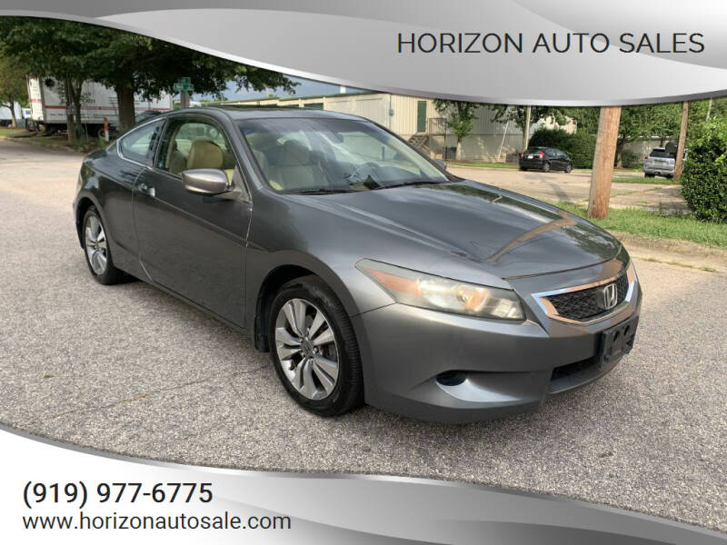 2010 Honda Accord for sale at Horizon Auto Sales in Raleigh NC
