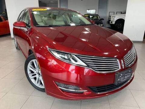 2013 Lincoln MKZ for sale at Cj king of car loans/JJ's Best Auto Sales in Troy MI
