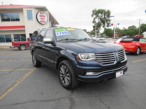 2015 Lincoln Navigator for sale at Auto Land Inc in Crest Hill IL