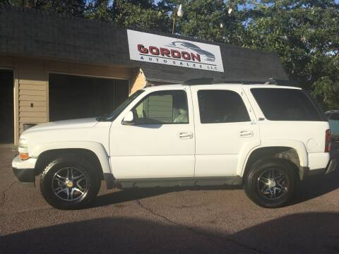 2003 Chevrolet Tahoe for sale at Gordon Auto Sales LLC in Sioux City IA