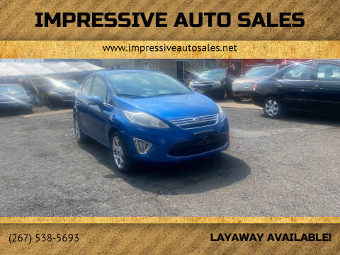 2011 Ford Fiesta for sale at Impressive Auto Sales in Philadelphia PA