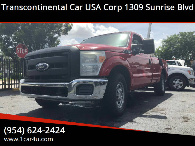 2011 Ford F-250 Super Duty 4x2 XL 2dr Regular Cab 8 ft. LB Pickup - Fort Lauderdale FL