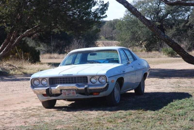 1973 Plymouth Satellite for sale at CLASSIC MOTOR SPORTS in Winters TX