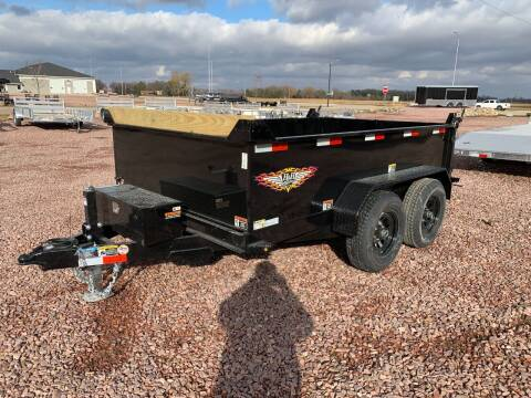 "2021 H&H UTILITY DUMP 76"" X 10' #1578 for sale at Prairie Wind Trailers, LLC in Harrisburg SD"