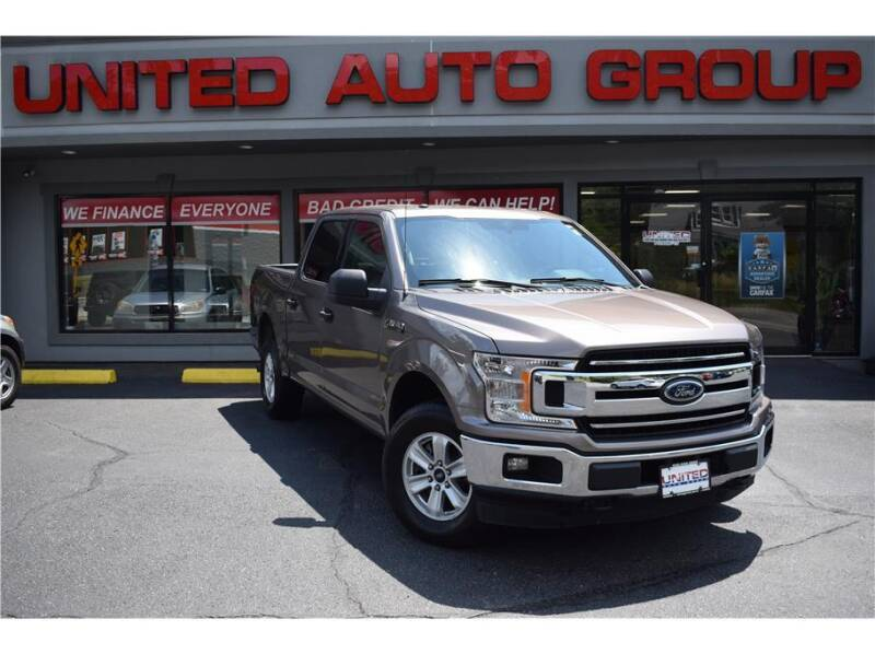 2018 Ford F-150 for sale at United Auto Group in Putnam CT