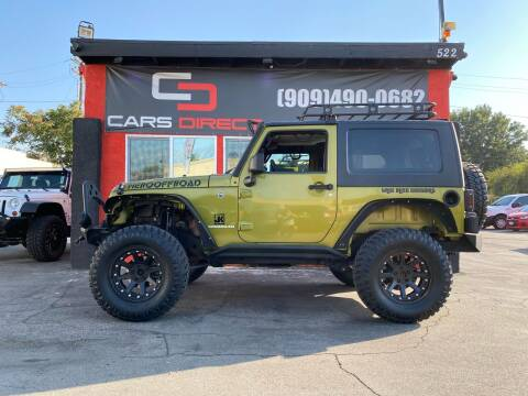 2007 Jeep Wrangler for sale at Cars Direct in Ontario CA
