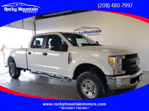 2017 Ford F-350 Super Duty for sale at Rocky Mountain Motors in Idaho Falls ID