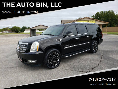 2007 Cadillac Escalade ESV for sale at THE AUTO BIN, LLC in Broken Arrow OK
