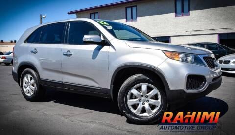 2012 Kia Sorento for sale at Rahimi Automotive Group in Yuma AZ