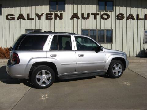 2008 Chevrolet TrailBlazer for sale at Galyen Auto Sales Inc. in Atkinson NE