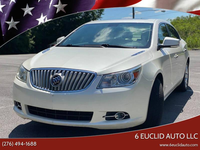 2011 Buick LaCrosse for sale at 6 Euclid Auto LLC in Bristol VA