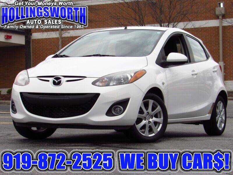 2011 Mazda MAZDA2 for sale at Hollingsworth Auto Sales in Raleigh NC