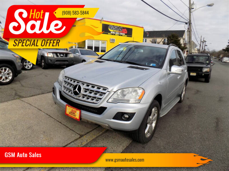 2011 Mercedes-Benz M-Class for sale at GSM Auto Sales in Linden NJ
