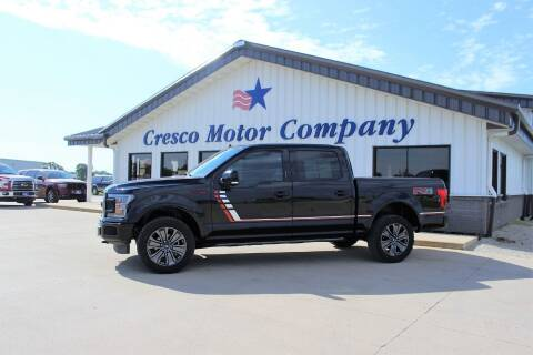 2018 Ford F-150 for sale at Cresco Motor Company in Cresco IA