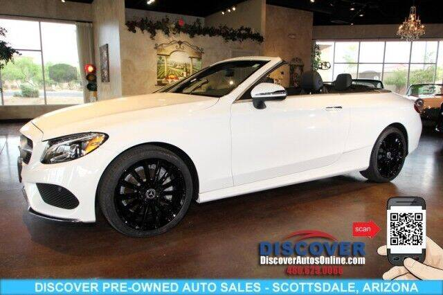 2018 Mercedes-Benz C-Class for sale at Discover Pre-Owned Auto Sales in Scottsdale AZ