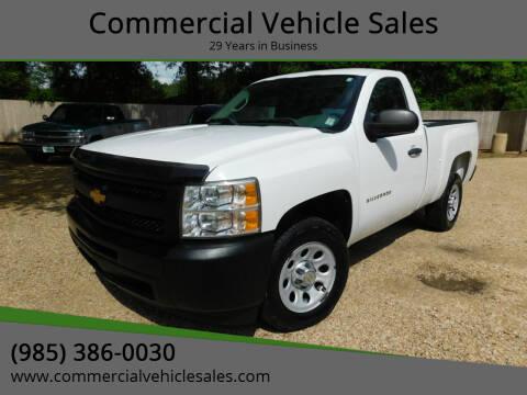 2012 Chevrolet Silverado 1500 for sale at Commercial Vehicle Sales in Ponchatoula LA