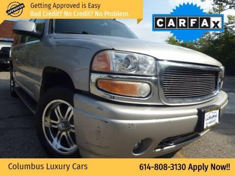 2006 GMC Yukon XL for sale at Columbus Luxury Cars in Columbus OH
