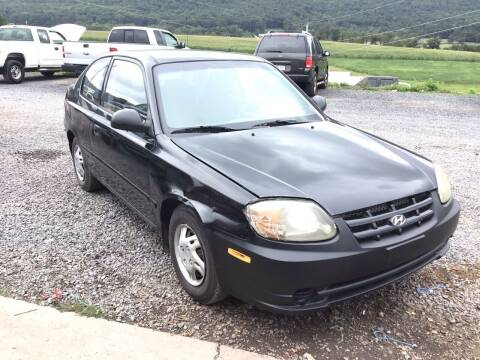 2003 Hyundai Accent for sale at Troys Auto Sales in Dornsife PA