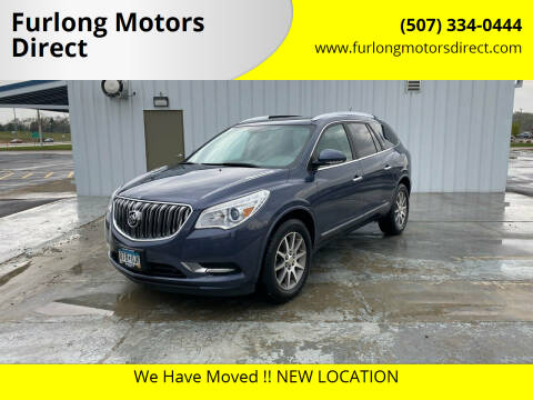 2014 Buick Enclave for sale at Furlong Motors Direct in Faribault MN