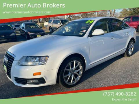 2009 Audi A6 for sale at Premier Auto Brokers in Virginia Beach VA
