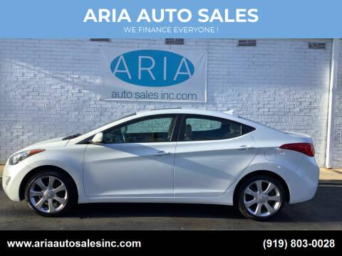 2011 Hyundai Elantra for sale at ARIA  AUTO  SALES in Raleigh NC