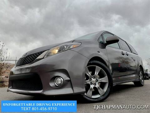 2015 Toyota Sienna for sale at TJ Chapman Auto in Salt Lake City UT