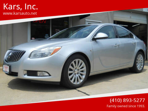 2011 Buick Regal for sale at Kars, Inc. in Fallston MD