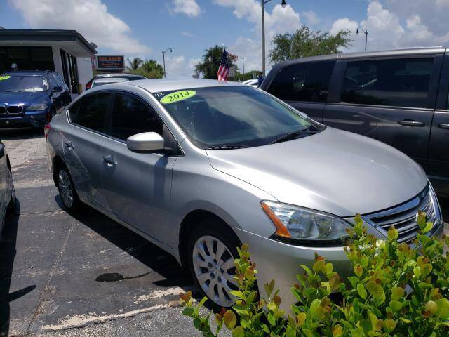 2014 Nissan Sentra for sale at Mike Auto Sales in West Palm Beach FL