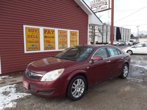 2009 Saturn Aura for sale at Mack's Autoworld in Toledo OH