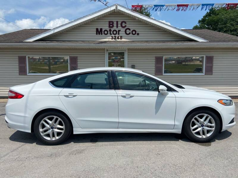 2014 Ford Fusion for sale at Bic Motors in Jackson MO